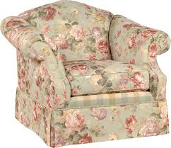 beautiful rose pattern accent chair plus rolled arms cool stuff