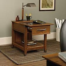 chairside table with charging station amazon com carson forge end table with charging station kitchen