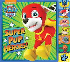 super pup heroes paw patrol random house