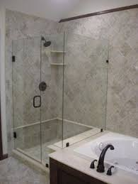 Corner Shower Stalls For Small Bathrooms by Shower With Partial Wall Modernize Your Bathroom With A