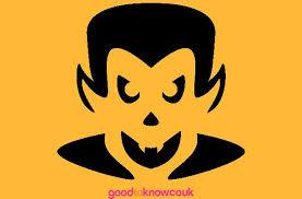 free pumpkin carving patterns vampire pumpkin carving pattern
