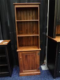 Bookcase With Door Pine Pier With Door