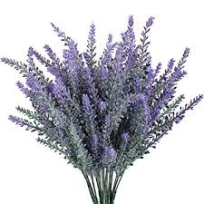 Lavender Home Decor Amazon Com Artificial Flower Flocked Lavender Bouquet