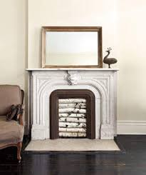 How To Decorate A Non Working Fireplace Dress Up An Unused Fireplace Real Simple