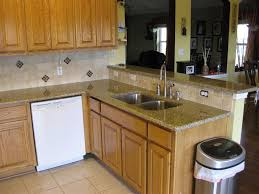 Wainscoting Kitchen Cabinets Stunning Venetian Gold Granite Kitchen Backsplash Come With Brown