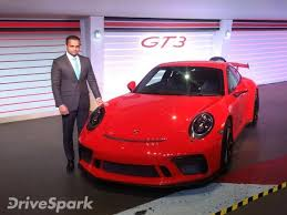 porsche 911 launch porsche 911 gt3 launched in india launch price specifications