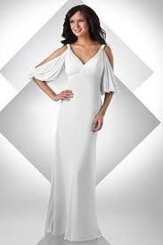 cold shoulder wedding dress bari grecian cold shoulder destination wedding dress 2016
