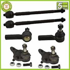 toyota corolla joint 6 pc kit front inner outer tie rod end lower joint toyota