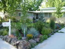 Front Curb Appeal - small front yard landscaping ideas no grass curb appeal garden