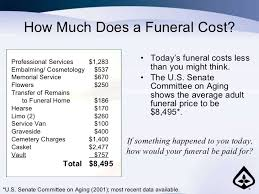 Estimated Funeral Costs by National Gaurdian