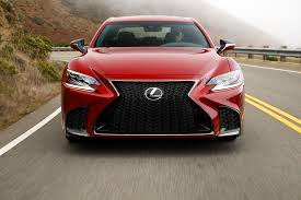 2018 lexus gs350 f sport 2018 lexus ls first drive review automobile magazine