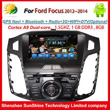 radio for ford focus android 4 4 2 2012 2013 2014 1 din 8 inch car stereo dvd