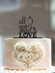 all you need is cake topper 88 best cake toppers images on marriage cake topper
