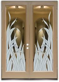 glass entry door glass entry doors stylish glass etching in any decor