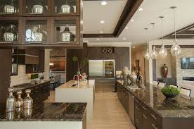 Two Tone Wood Floor 52 Dark Kitchens With Dark Wood And Black Kitchen Cabinets