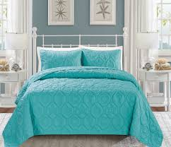 Seashell Queen Comforter Set Seashell Spa Blue Reversible Bedspread Quilt Set Master Bedroom
