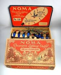 antique 1940 s noma lights by bitsofleathernlace on etsy