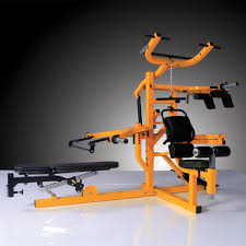 powertec workbench multi system isolateral arms yellow