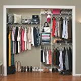 Closetmaid Shelf Track System Amazon Com Closetmaid 22875 Shelftrack 5ft To 8ft Adjustable