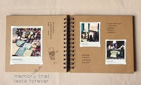photo albums with magnetic pages 98 pages wedding guestbook kraft scrapbook album by papergeekmy
