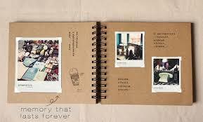 spiral bound photo album 98 pages wedding guestbook kraft scrapbook album by papergeekmy