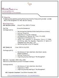 resume format for freshers bcom graduate pdf download over 10000 cv and resume sles with free down