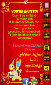 invitation maker app birthday invitation card maker app ranking and store data app