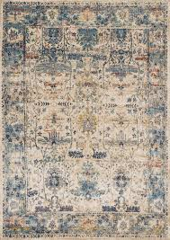 kajal rug blue spaces bedrooms and living rooms