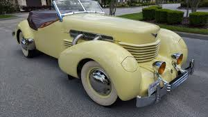 restored in the 70s 1937 cord roadster