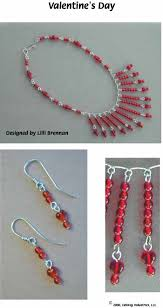 make beads necklace images Valentine wire and beads jewelry pg 1 made with wigjig jewelry jpg