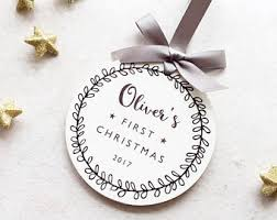 Baby S First Christmas Bauble 2014 by Baby First Christmas Etsy