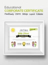 corporate certificates certificate templates certificate design