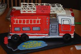 firetruck cake everyday truck cake