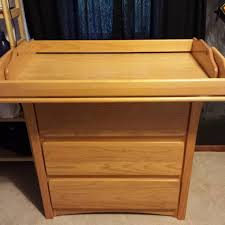 Convertible Changing Table Dresser Best Solid Wood Kinder Kraft Beech Convertible Changing Table For