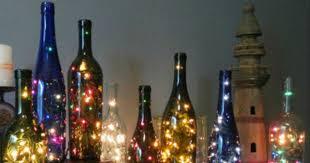 Wine Bottles With Lights Diy Wine Bottle String Lights All Created
