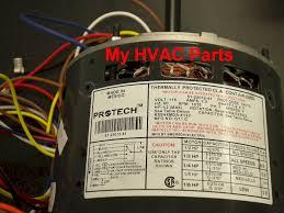 51 23014 32 rheem ruud 1 4 hp furnace motor