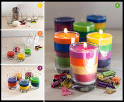 top simple candle decoration for kids and afdable diy christmas