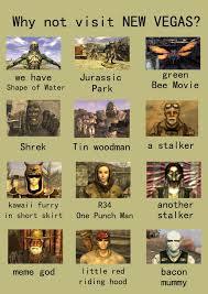 Fallout New Vegas Memes - random techpriest s eclectic emporium