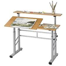Drafting Table And Desk Safco Products 3965mo Split Level Drafting Table