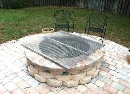 grate for outdoor fire pits plans for outdoor grill fire pit outdoor fire pit grill grates