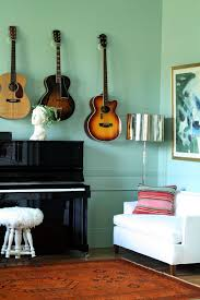 jenny komenda u0027s gorgeous music room love the farrow u0026 ball green