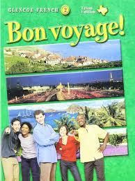 amazon com bon voyage level 2 texas st glencoe french level