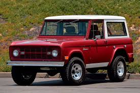 ford bronco clean 1968 ford bronco restomod needs a new home motor trend