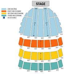 radio city detailed seating chart