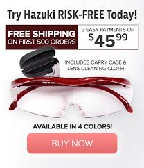 magnifying eyeglasses with light as seen on tv the official site of hazuki magnifying glasses