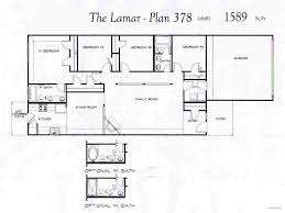 baby nursery one level floor plans open one story house plans