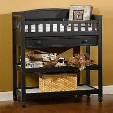 Childcraft Changing Table Child Craft Watterson Changing Table In Distressed Black Free Shipping