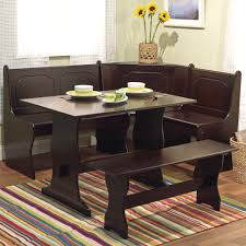 Nook Table Set by Comfortable Space By Using Kitchen Bench Seating Kitchen Wooden