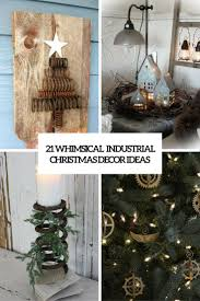 21 Whimsical Industrial Christmas Décor Ideas  Shelterness