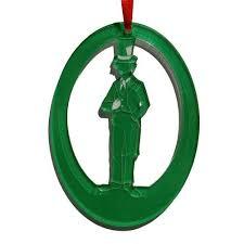 mad hatter laser etched ornament ballet gift shop